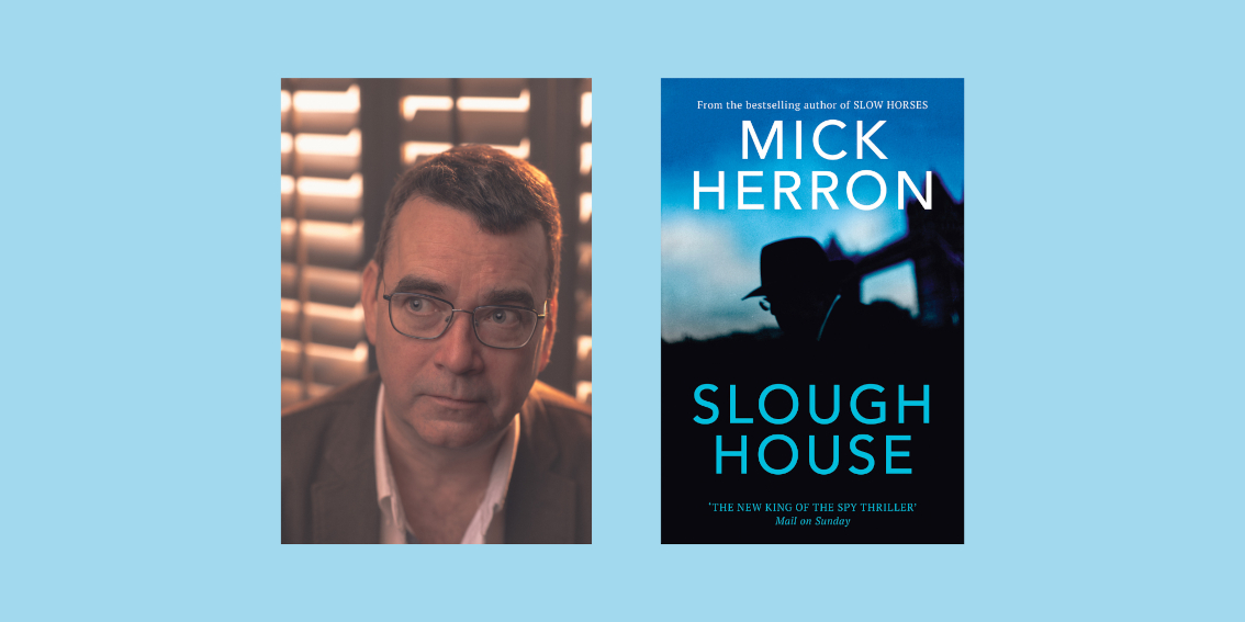 Mick Herron: Opening the Book